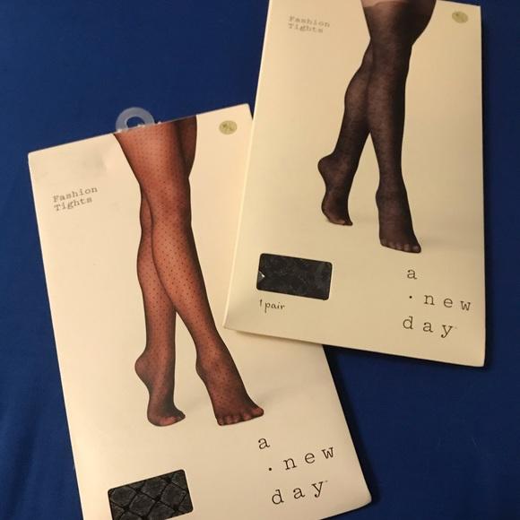 Fashion Tights M/L (2 Pairs)